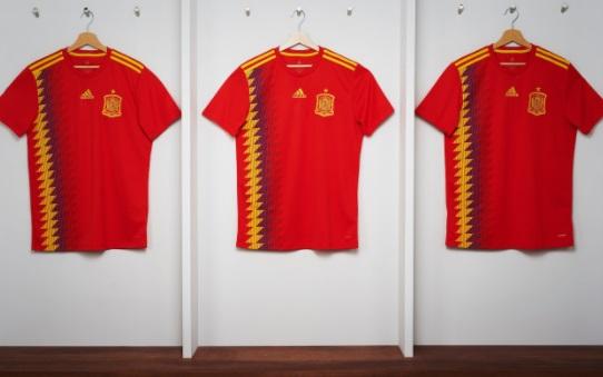 Causa polémica la nueva camiseta de la selección española cb839cd339d3a