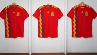 Causa polémica la nueva camiseta de la selección española