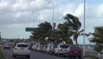 Frente frío 44 provocará vientos fuertes con posibles tolvaneras en México