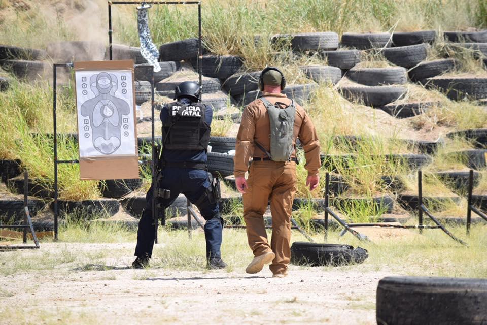 Agentes de Arizona capacitan a policías de Sonora
