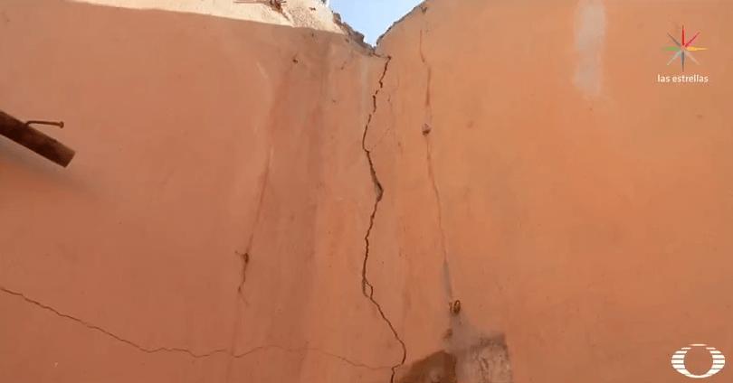 Casa afectada por el sismo del 7 de septiembre en Pijijiapan, Chiapas