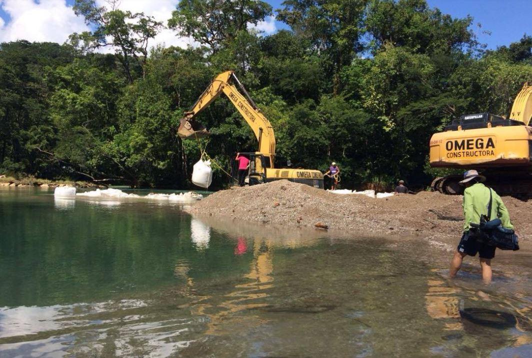 Cascadas de Agua Azul recuperan su flujo de agua