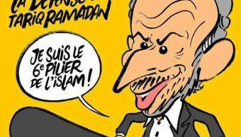Charlie Hebdo recibe amenazas muerte caricatura académico