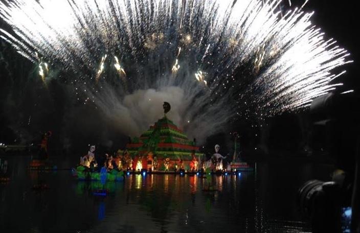 Realizan Festival de la Luz y la Vida en Chignahuapan, Puebla