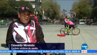 Ciclistas Denuncian Asaltos Carretera Teotihuacán Grupo Ciclistas Asalto A Mano Armada