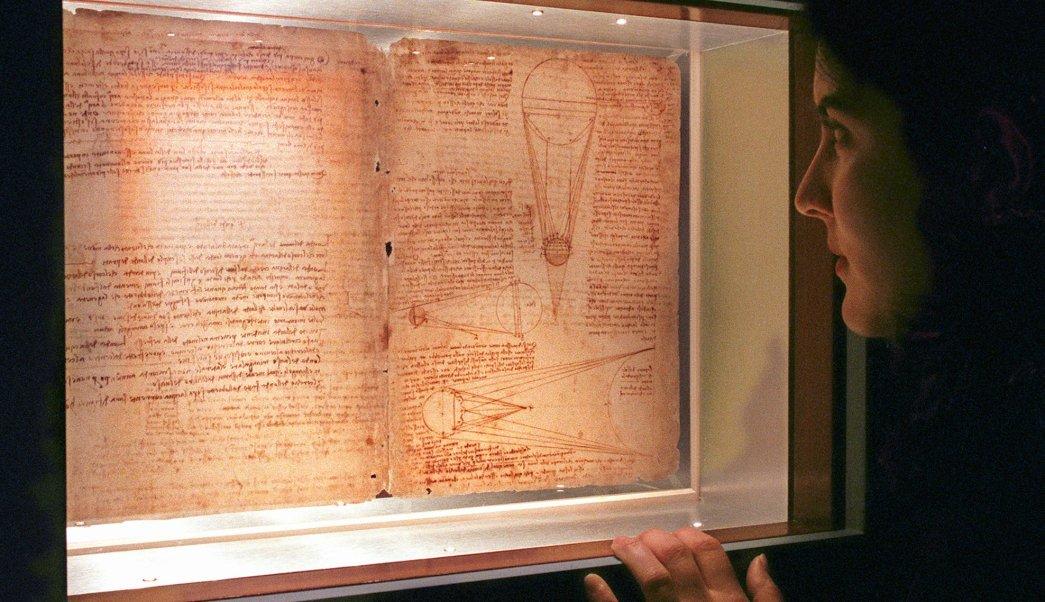 Codex Leicester, obra de Leonardo da Vinci, propiedad de Bill Gates