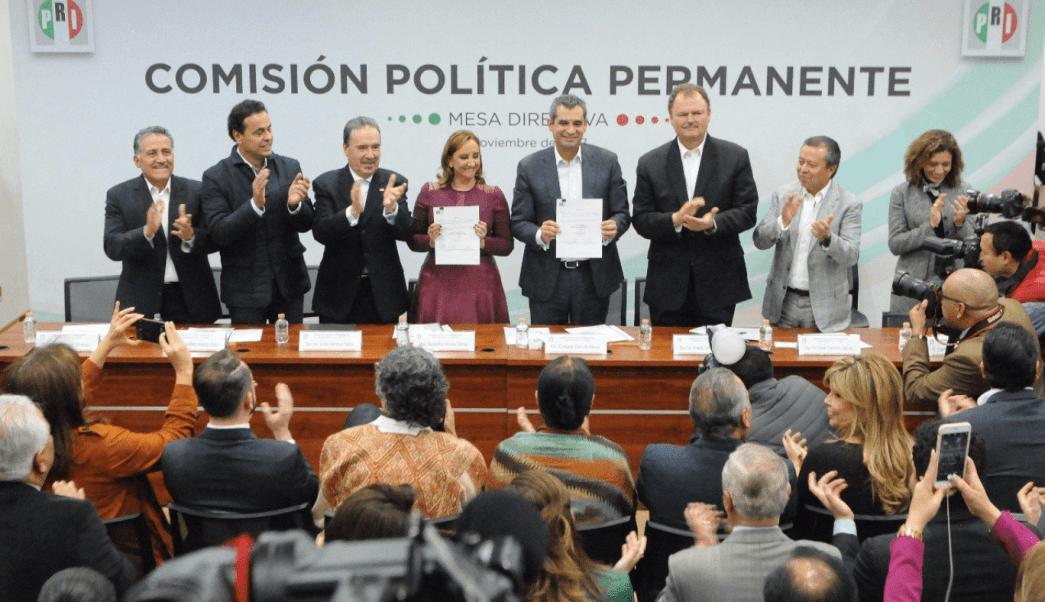 PRI valida Meade proceso interno candidatura presidencial