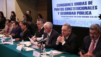 diputados rechazan comisiones minuta mando mixto policiA