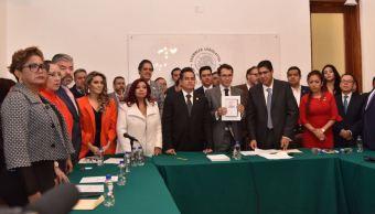 morena toma asamblea legislativa comparecencia procurador