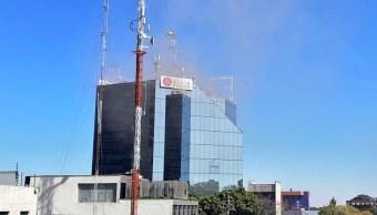 Conato de incendio en Grupo Radio Centro