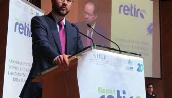 Consar presenta programa para mejorar ahorro en Afore