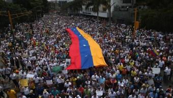 Protestas en Venezuela contra el gobierno de Maduro