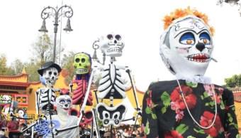 coyoacan celebra dia muertos desfile catrinas