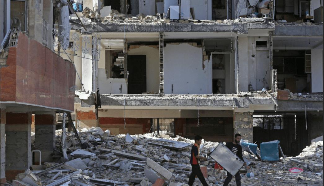 Más de 30 mil viviendas resultaron destruidas por el terremoto en Irán