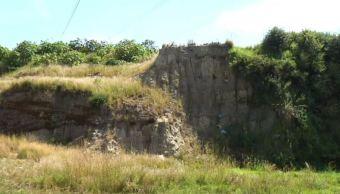 Descubren una falla geológica en Puebla