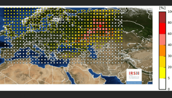 Detectan nube radiactiva en países de Europa. (AP)