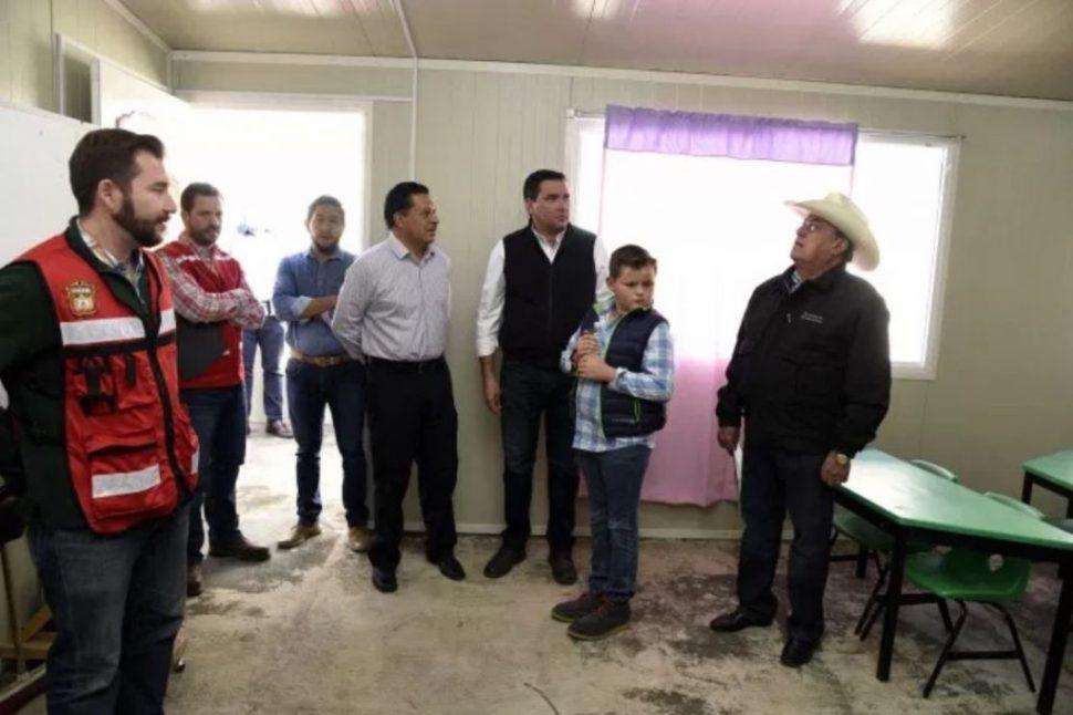 edomex reconstruccion planteles sismo escuelas dañadas,