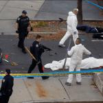 El agresor arrolló a transeúntes y ciclistas y mató a ocho de ellos