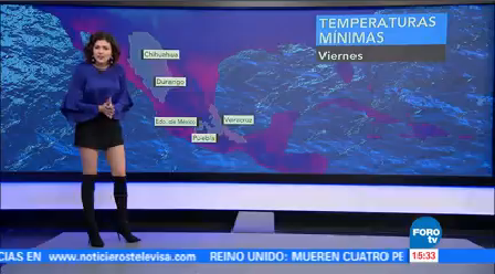 Clima A Las Tres Daniela Álvarez Prevén Ranchas Viento