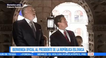 Epn Recibe Presidente Eslovaquia Andrej Kiska