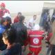 Equipos de rescate asisten a las víctimas del atentado en Egipto