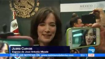 Esposa Meade Declara Lista Para Apoyarlo Señora Juana Cuevas