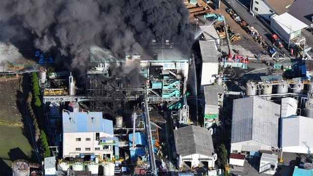 Explosión planta química Japón deja 14 heridos