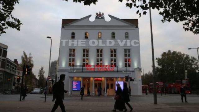 Fachada del teatro londinense The Old Vic