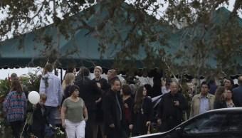 Realizan funeral de miembros de familia masacrada en Texas