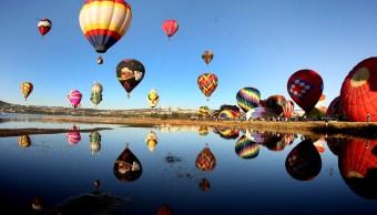 Pilotos de 23 países participan en Festival del Globo en León, Guanajuato