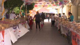 Celebran el festival del Pan de Muerto en Chilpancingo