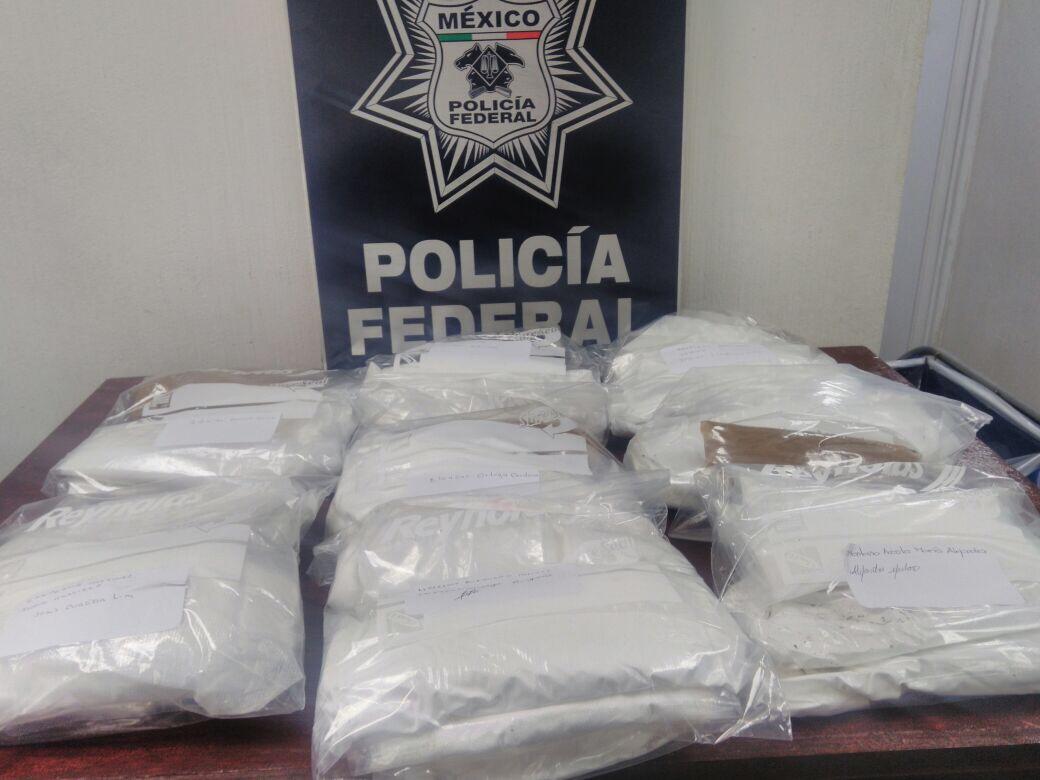 Aseguran 7 kilos de cocaína en el Aeropuerto de la CDMX