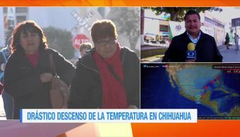 Frío intenso se registra en Chihuahua