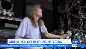 Fundador Ac/Dc Malcolm Young Muere 64 Años