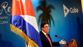 Trump no tiene autoridad moral para criticar a Cuba, dice canciller cubano
