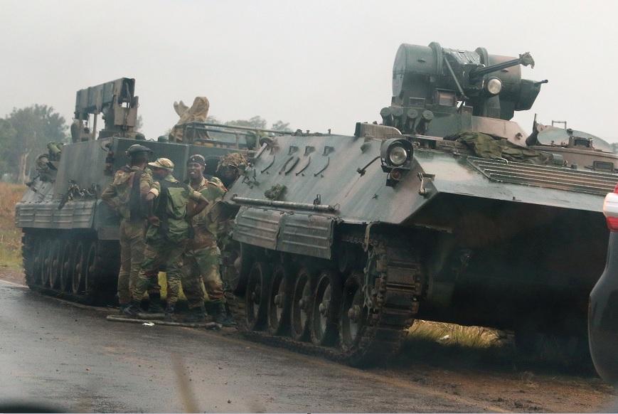 Rumores golpe Estado aumenta tensión Zimbabue