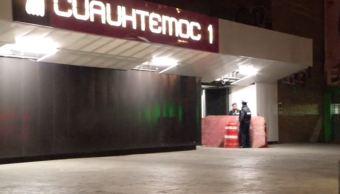 Hombre en situación de calle muere frente al Metro Cuauhtémoc, CDMX
