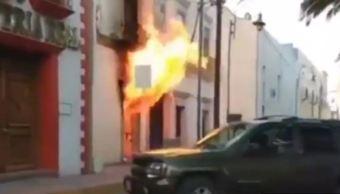 Incendio en comandancia de Libres, Puebla, tras intento de linchamiento