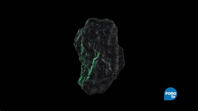 Interacción de los meteoritos en el universo