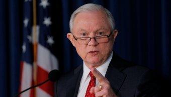 Fiscal Jeff Sessions declarara Congreso Estados Unidos injerencia rusa