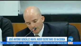 José Antonio González Anaya Nuevo Secretario Hacienda Crédito Público
