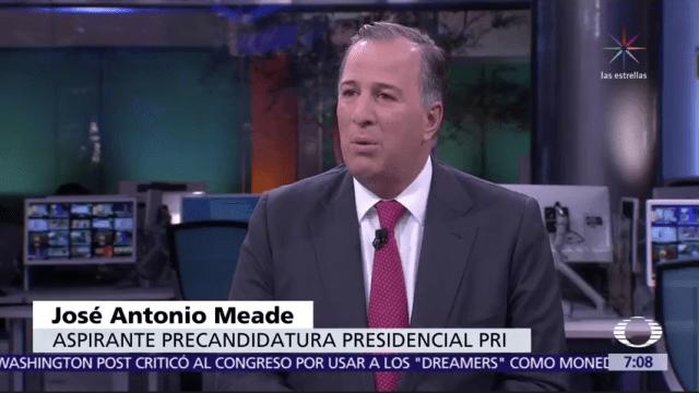 José Antonio Meade habla en Despierta del 2018, el PRI y la Presidencia