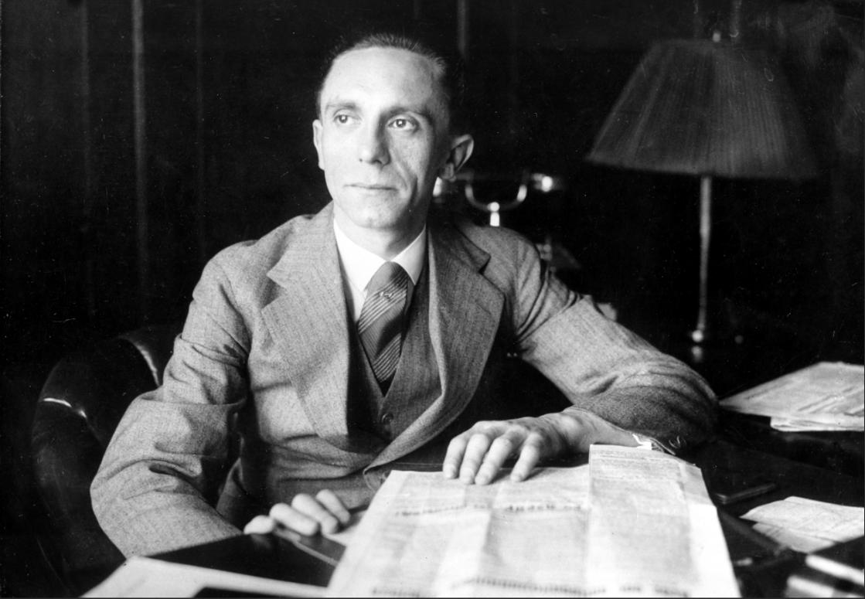 Joseph Goebbels fue el ministro de propaganda del partido Nazi