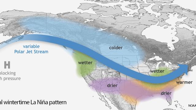 NOAA confirma que La Niña se ha formado