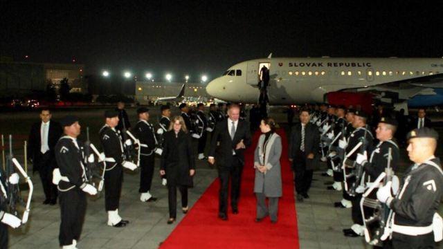 El presidente de Eslovaquia, Andrej Kiska, realiza una visita de Estado en México; se reunirá con su homólogo Peña Nieto. (Twitter/@gobmx)