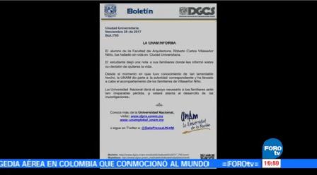 Localizan Cuerpo Estudiante CU Facultad Arquitectura UNAM