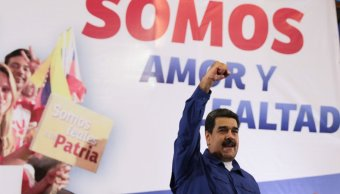 Maduro exige que oposición pida Estados Unidos levantar sanciones Venezuela