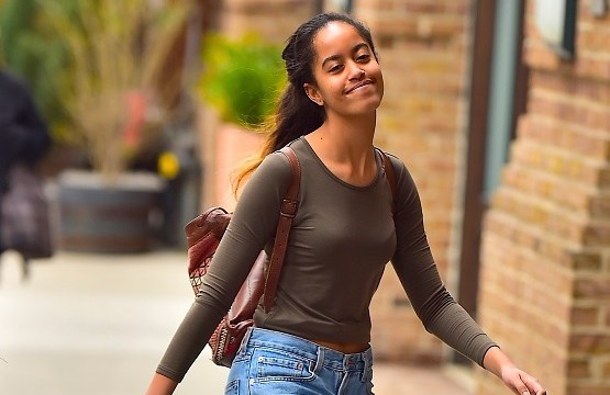 Malia Obama, hija mayor del expresidente de EU, Barack Obama