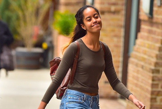 Malia Obama, hija mayor del expresidente de EU, Barack Obama