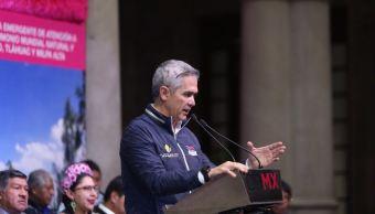 Mancera pide a AMLO intervenir para retirar bloqueo en Asamblea Legislativa
